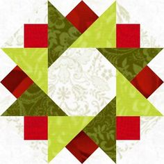 Twinkling Star Quilt Block http://lcscottage.wordpress.com/2013/12/27/twinkling-star-quilt-block/