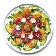 Blood Orange-Avocado-Beet Salad...