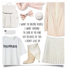 """""""Human"""" by marina-volaric ❤ liked on Polyvore featuring IRO, River Island, Vera Bradley, Love Quotes Scarves, Nordstrom, H&M and Alexander McQueen"""
