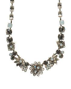Sorrelli NCD1ASWBR White Bridal Necklace   Price: $159.00