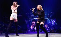 All of Taylor Swift's BFFs on the '1989' tour | Leona Lewis, 'Bleeding Love' | EW.com