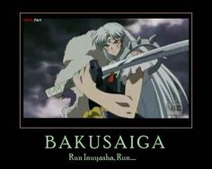 I know he stopped trying to kill Inuyasha and everything but: if I were him and I got this new kick ass sword, I would go kill that little punk. Inuyasha Memes, Inuyasha Funny, Tenten Naruto, Danmachi Anime, Inuyasha And Sesshomaru, Netflix Anime, Anime Rules, Anohana, Anime Life