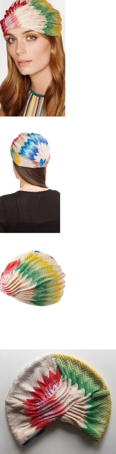 Hair Accessories 45220: Nwt Gorgeous Missoni Mare Zig-Zag Knit Beach Turban Headband 1 Size Italy -> BUY IT NOW ONLY: $145 on eBay!