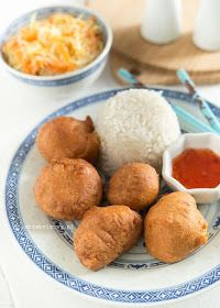 Mirabelkowy blog: Kurczak w cieście kokosowym Cornbread, Food And Drink, Eat, Cooking, Ethnic Recipes, Blog, Millet Bread, Kitchen, Blogging