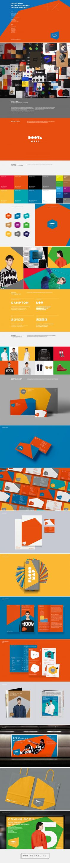 DOOTA Mall Brand eXperience Design Renewal on Behance... - a grouped images picture - Pin Them All