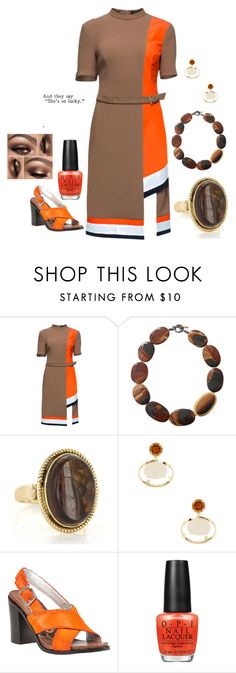 """Trending, Agate Jewlery"" by freida-adams ❤ liked on Polyvore featuring Lattori, Yossi Harari, Vianna B.R.A.S.I.L, Sam Edelman, OPI, women's clothing, women, female, woman and misses"