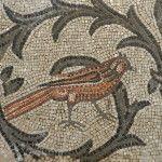 Bird mosaic, Aquileia, Italy. 4th century, AD.