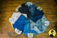 We stock Vintage 80's & 90's  Jean Jackets, enough to wholesale them.   Whether you need THE one Jean Jacket, or 3000 pieces for your retailing needs, we got you covered.   #Hadio514 Find Us