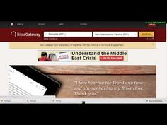 One of my favorite Bible study tools is called an online parallel Bible.  What does an online parallel Bible do?  It puts different versions/translations of the Bible side by side. It can enhance your understanding of the verses that you're reading in your version. It allows you to look verse-by-verse, or you can expand it to chapters. Although I now have a favorite version of the Bible, I still use this tool to deepen my understanding. Check out this video to see how I use it: