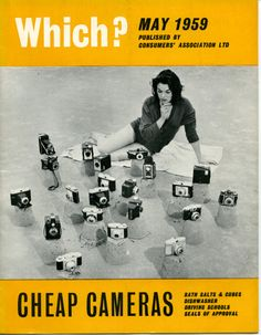 Which? May 1959 cover
