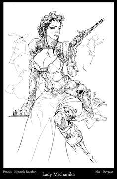 deviantART Picks 8/26/2014 Tuesday Edition #LadyMechanika | Images Unplugged