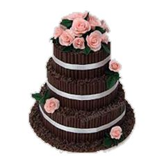 Celebrate your wedding anniversary with an outstanding 3 tier chocolate cake. Shop online from Wedding Anniversary, Anniversary Cakes, Cake Online, Yummy Cakes, Chocolate Cake, Cool Designs, Vanilla, Food And Drink, Bolo De Chocolate