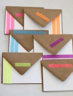 diy glitter cards