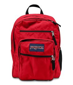 Jansport Big Student High Risk Backpack. Red. Available in store. #GoCoogs #TextbookBrokers #UH