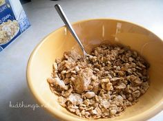 honey oats greek cereal