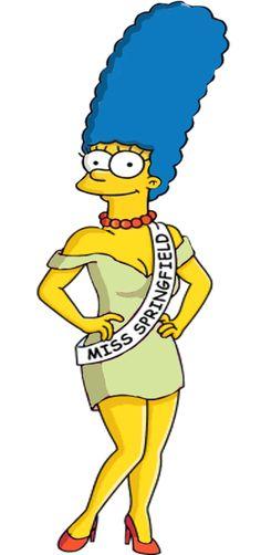 Marge as the new Miss Springfield by darthraner83.deviantart.com on @DeviantArt