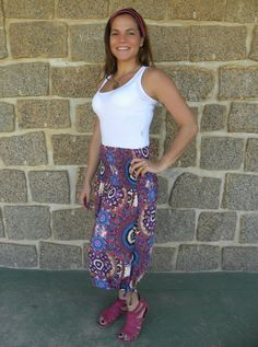 Vestido Saia Onda 3- #mundoshakti #quemédomar #estilo #moda #boho #bohochic #verão2016
