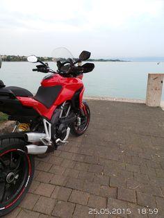 Ducati Multistrada Lake garda Italy