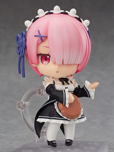 Action & Toy Figures Lovely 18cm Anime Re Life In A Different World From Zero Remu Ramu Love Ver Pvc Action Figure Collectible Model Doll Toy