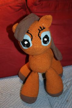 großes Pony zum verlieben <3 Crocheted Animals, Pet Toys, Tweety, Rid, Facebook, Shop, Handmade, Fictional Characters, Dolls