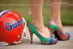 Every Gator girls dream, the perfect gameday pumps you can dress up or dress down! @erinlengel don't worry I've got your wedding shoes covered.