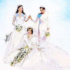 Princesa Diana, Kate Middleton e Meghan Markle - Selfie Princess Diana Family, Princess Meghan, Princes Diana, Prince And Princess, Princess Charlotte, Meghan Markle, Prince Harry And Megan, Prince William And Kate, Royal Brides