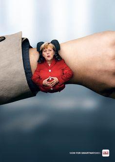 Now for smartwatches. Advertising Agency: Havas Worldwide, Düsseldorf, Germany Chief Creative Officer: Felix Glauner Executive Creative Directo