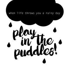 Rain - please credit or tag kaartmetmuisjes