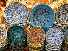 Turkish pottery....fill up my cabinets :)