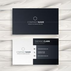 Find Black White Business Card stock images in HD and millions of other royalty-free stock photos, illustrations and vectors in the Shutterstock collection. Business Card Stock, Business Cards Layout, Professional Business Card Design, Minimal Business Card, Elegant Business Cards, Visiting Card Design, Presentation Cards, Name Card Design, Bussiness Card
