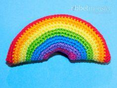 Amigurumi - kleinsten Regenbogen häkeln - Anleitung - Häkelanleitung