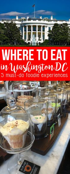 Who knew Washington DC had such great food and restaurants? This foodie bucket list shares details about the best bites and sips we found during our trip to Washington DC.