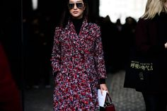 Paris Fashion Week Fall 2016 Street Style, Day 3 - -Wmag