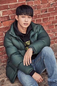 Hyunsik Btob, Sungjae, Im Hyun Sik, Hyung Sik, Bomber Jacket, Winter Jackets, Pop, Fashion, Winter Coats