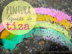 Arte para niños utilizando tiza | Blog de BabyCenter @carolinallinas