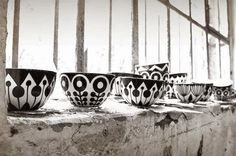 vosgesparis: Black and White ceramic by Fjor