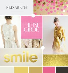 a touch of gold | moodboard by breanna rose