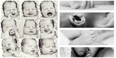 Taking a Collage of Pictures for Newborn Photography
