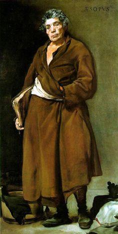 Diego Velazquez - Aesop (oil on canvas, 1639 - 1641)