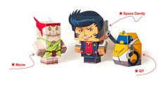 BBP. Load free pattern of Space Dandy from our web-site  #spacedandy #cubeecraft #dandy #QT #BBP #Meow