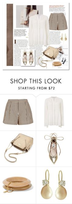 """""""Finally, shorts!"""" by terry-tlc ❤ liked on Polyvore featuring 3.1 Phillip Lim, Gray & Willow, Steve Madden and Ben-Amun"""