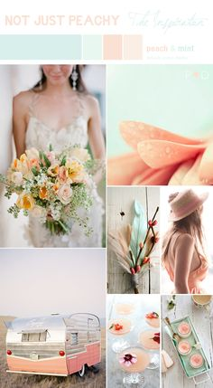 Peach and mint, Ice-Cram Shades, Sorbet Shades, Pastel Shades, Bridal Inspiration Boards, Mood boards, Pastel Wedding, Peach Wedding, Mint Wedding, Bouquet, Flowers, Cake, Wedding Styling, Wedding Planner North West (1)