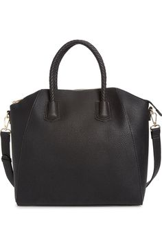 $70 676 sq in Sole Society Gina Braided Faux Leather Satchel available at #Nordstrom
