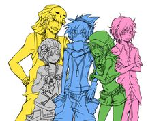 TWEWY At a different time in a different place this like totally happened