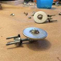 Easy Handmade Nuts and Bolts Star Trek Enterprise - Easy Handmade Nuts and Bolts Star Trek Enterprise : 6 Steps (with Pictures) – Instructables - Welding Crafts, Diy Welding, Welding Projects, Metal Art Projects, Metal Crafts, Kid Projects, Types Of Welding, Star Trek Enterprise, Enterprise Ship