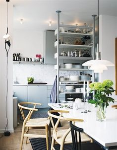 Ideas to Steal from 5 Gorgeous Scandinavian Kitchens / Apartment Therapy