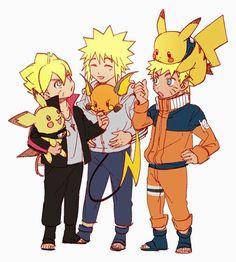 Naruto and Pokémon crossover