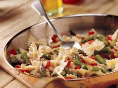 Lemon Pepper Pasta and Asparagus - wonderful! A nice switch from tomato based pastas!