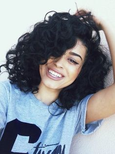 Curly happiness