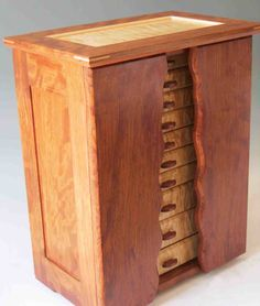 Armoire Jewelry Boxes: Handcrafted of Exotic Woods
